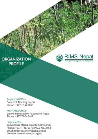 rims nepal organizational profile